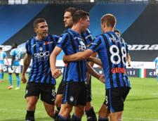 Atalanta a invins Sampdoria si spera la titlu in Italia