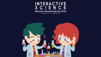 Ateliere creative in fiecare duminica din luna martie, la Expozitia Internationala de stiinta Interactive Science