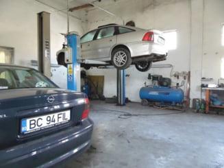 Ateliere de reparatii auto, luate la bani marunti