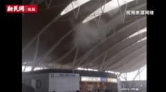 Atentat cu bomba artizanala pe aeroportul din Shanghai (Video)