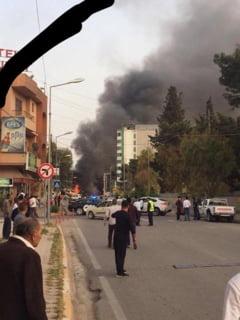 Atentat langa un consulat american, revendicat de Statul Islamic: Cel putin 8 victime Update