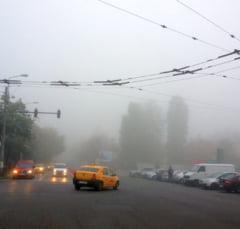 Atentie, soferi! E cod galben de ceata in 21 de judete si Bucuresti