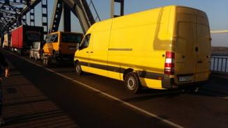 Atentie, soferi! Restrictii rutiere pe podul de la Giurgiu