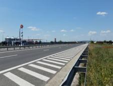 Atentie, soferi! Sunt restrictii pe autostrada Bucuresti-Pitesti din cauza unor lucrari