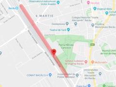 Atentie, soferi! Trafic restrictionat pe o strada din Bacau
