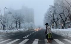 Atentie la drum: Giurgiu, sub cod galben de ceata si chiciura!
