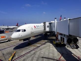 Aterizare de urgenţă la Atena a unui avion american care aparţinea Delta Air Lines. Ce probleme a întâmpinat pilotul aeronavei