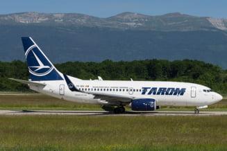 Aterizare de urgenta pentru un avion Tarom