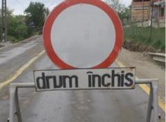 Atetie, soferi ! Un drum national din Caras Severin va fi inchis de sambata pana duminica