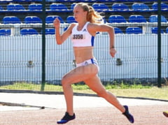 Atleta buzoiana Marina Baboi, la Cupa Europei