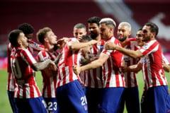 Atletico Madrid a invins Valladolid cu 1-0 si a urcat pe podium in LaLiga