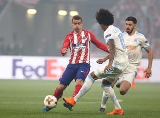 Atletico Madrid castiga Europa League dupa o victorie la scor