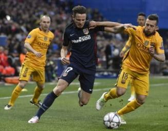 Atletico Madrid elimina Barcelona din Champions League
