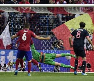 Atletico Madrid invinge Bayern in turul semifinalelor Champions League