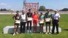 Atletism / Patru medalii la Nationale!