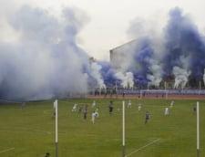 Atmosfera de senzatie pe un stadion de Liga 4 din Romania (Video)