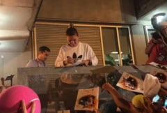 Atmosfera de zile mari la meciul Simonei Halep din Toronto: Iata cum s-au comportat fanii romani (Video)