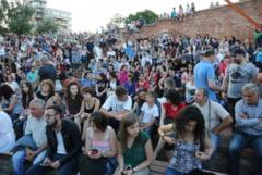 Atmosfera incendiara in Cetatea Oradea - Proconsul, concert de nota 10