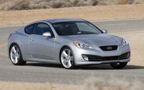 Au aparut primele imagini ale modelului Hyundai Genesis Coupe