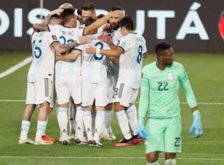 Au inceput calificarile pentru Campionatul Mondial in America de Sud. Messi a adus victoria Argentinei in fata Ecuadorului, Suarez a marcat pentru Uruguay