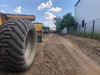 Au inceput lucrarile de asfaltare a strazilor din cartierul Mitica Apostol din Ploiesti