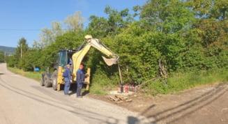Au inceput lucrarile de modernizare a drumului de legatura intre strada Vulcan si strada Cozia