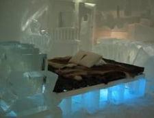Au inceput lucrarile la noul hotel de gheata de la Balea Lac