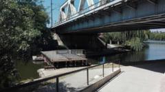 Au inceput lucrarile la pasarela pietonala peste Herastrau (Foto) UPDATE Primaria anunta cand vor fi gata