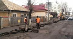 Au inceput lucrarile pe strada Tineretului