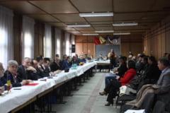 Au luat pulsul problemelor din judet - Colegiu Prefectural la Marghita
