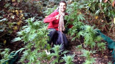 Au plecat sa culeaga ciuperci, dar au gasit marijuana