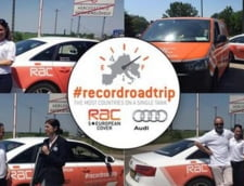 Audi a stabilit un nou record mondial - consum incredibil pe un drum facut in 14 tari!