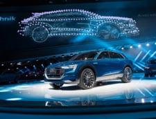 Audi prezinta crossoverul electric pregatit sa zburde pe soselele europene