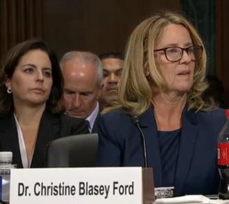 Audiere istorica in Senatul SUA a femeii care-l acuza de agresiune sexuala pe candidatul lui Trump la Curtea Suprema (Video)