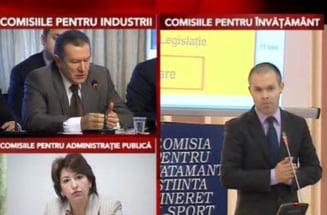 Audierile ministrilor propusi de Lucian Croitoru, minut cu minut