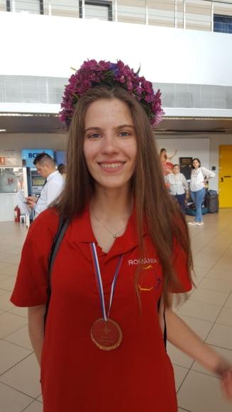 Aur la Balcaniada de Geografie 2017 pentru scoala Lauder-Reut