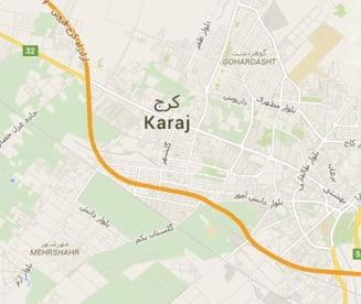 Autobuz cu turisti cazut in prapastie in Iran: zeci de victime