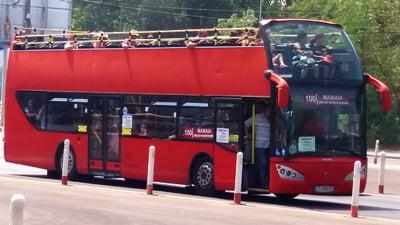 Autobuze etajate la Constanta, din 18 iunie, pe ruta Gara CFR - statiunea Mamaia