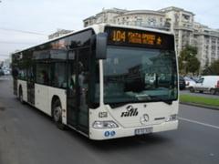 Autobuzele 102 si 104 vor circula pana la Cora Pantelimon