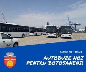 Autobuzele noi pentru Botosani au ajuns in tara dar Eltrans nu are inca niciun sofer cu atestat