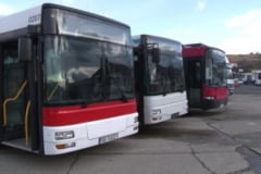 Autobuzele recent achizitionate intra in circulatie