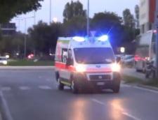 Autocar cu zeci de romani implicat intr-un accident in Italia