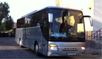 Autocarul echipei Oltchim Ramnicu Valcea a fost vandalizat