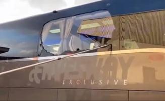 Autocarul lui Real Madrid, atacat de fanii lui Liverpool