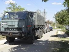 Autoritatile din Giurgiu au cerut ajutor Armatei impotriva pestei. Cum s-a ajuns aici