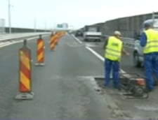 Autostrada Arad-Timisoara, plina de gropi si denivelari la nici un an de la inaugurare