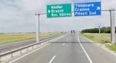 Autostrada Bucuresti-Pitesti va avea trei benzi pe sens pana in 2020