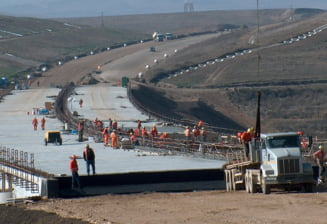 Autostrada Transilvania trebuia sa fie gata astazi, 31 decembrie 2012