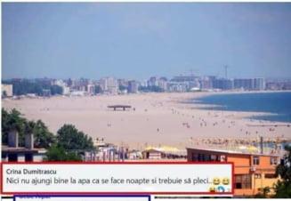 "Avalansa de glume facute dupa largirea plajelor din Mamaia. ""Trebuie sa pui Google Maps cand te intorci la sezlong"" VIDEO"