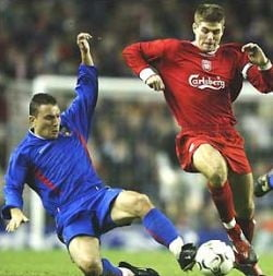 Avancronica intalnirii Liverpool - Steaua